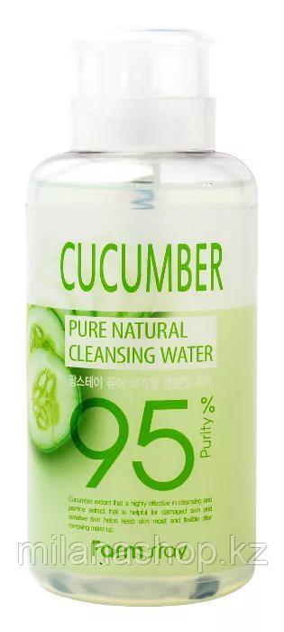 FarmStay Pure Cleansing water Cucumber - Очищающая вода с экстрактом огурца