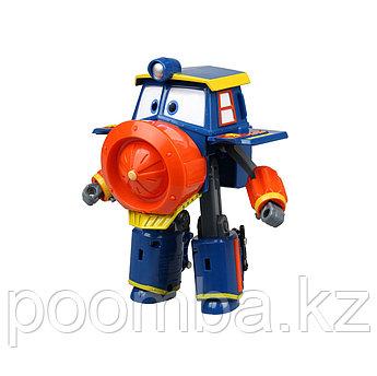 Роботы-поезда, Фигурка-трансформер Виктор , 10 см
