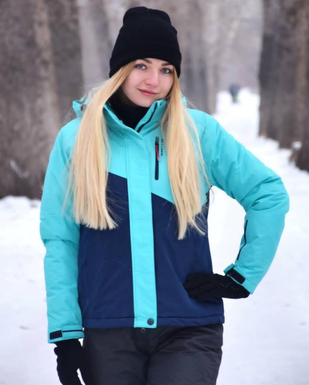 Женский теплый зимний костюм