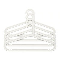 Плечики БАГИС 4 шт. белый ИКЕА, IKEA