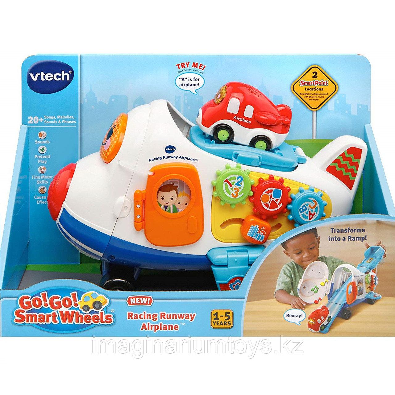 Интерактивная развивающая игрушка «Самолет» VTech