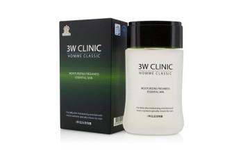 "Увлажняющий тоник для мужчин ""Homme Classic Moisturizing Freshness Essential Skin"" 3W Clinic 150 мл."