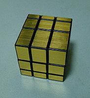 Кубик Зеркальный золотой от Шенгшоу