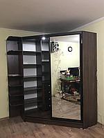 Угловой шкаф-купе на заказ в алматы, фото 1