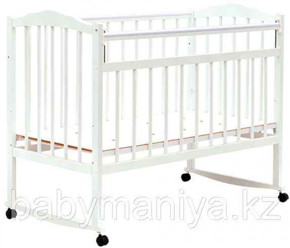 Кроватка Bambini Классик M 01.10.09 цвет Белый