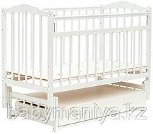 Кроватка Bambini Классик M 01.10.10 цвет Белый