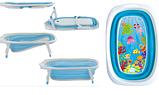 Ванночка силиконовая складная FitchBaby зеленый, фото 2
