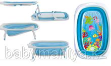Ванночка силиконовая складная FitchBaby синий