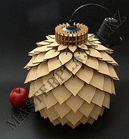 - Светильники из дерева