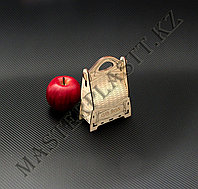 """Подарочная коробка """"Gift box"""" из дерева. 10,5х5х15см., фото 1"""
