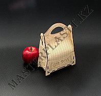 """Подарочная коробка """"Gift box"""" из дерева. 15х7х20см., фото 1"""