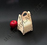 """Подарочная коробка """"Gift box"""" из дерева 11х9,5х19см, фото 1"""