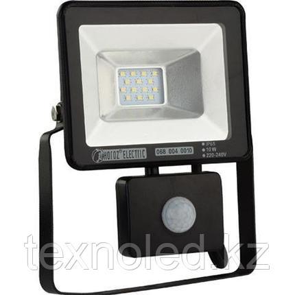 Светодиодный прожектор многодиодный с датчиком движения LED 10 w, фото 2