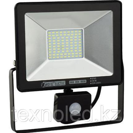Светодиодный прожектор многодиодный с датчиком движения LED 30 w, фото 2