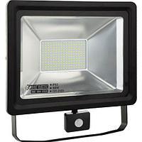 Светодиодный прожектор многодиодный с датчиком движения LED 100 w