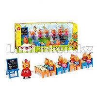 "Набор игрушек ""Три кота""  в классе (М121)"