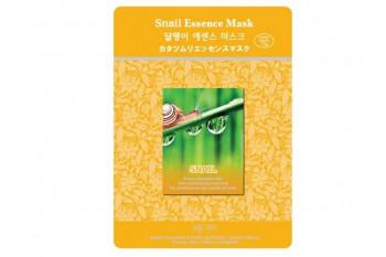 MJ Care Snail Essence Mask/Тканевая маска для лица с улиточным муцином