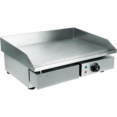 Поверхность жарочная WY-818 (550х460х245 мм, 3 кВт, 220 В, гладкая жар. поверхн., нерж. )