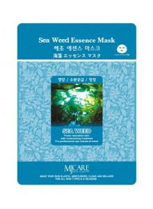 MJ Care Sea Weed Essence Mask/с экстрактом водорослей