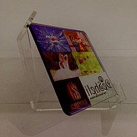 Стеклянная рамка для сублимации 14,5 см (acrylic frame) прозрачная