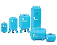 Расширительный мембранный бак WESTER WAV для хозпитьевого водоснабжения 150 литров
