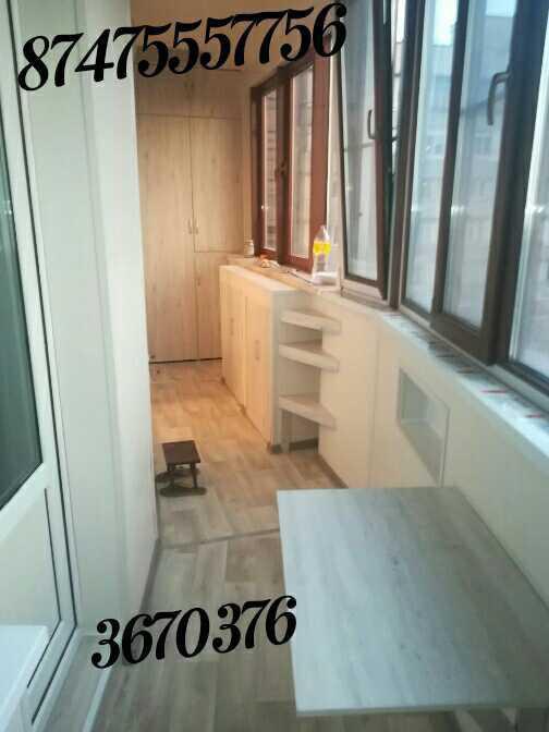 Изготовление мебели на балкон