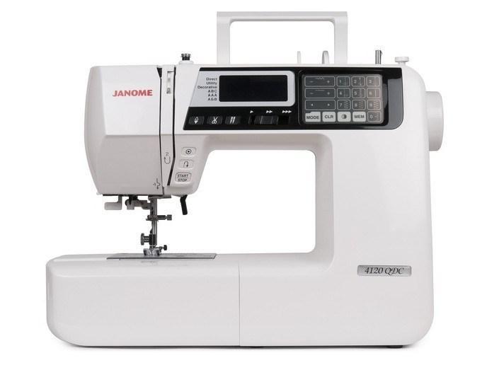 Janome 4120 QDC Компьютерная швейная машина