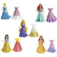 Disney Princess Мини-кукла Принцесса Disney с платьем, в ассортименте