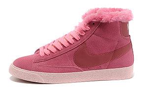Зимние женские кроссовки Nike Air Max розовые, фото 2