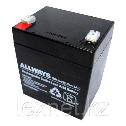 Батарея, SVC, 12В, 4.5 Ач, размер в мм.: 106*90*70, фото 2
