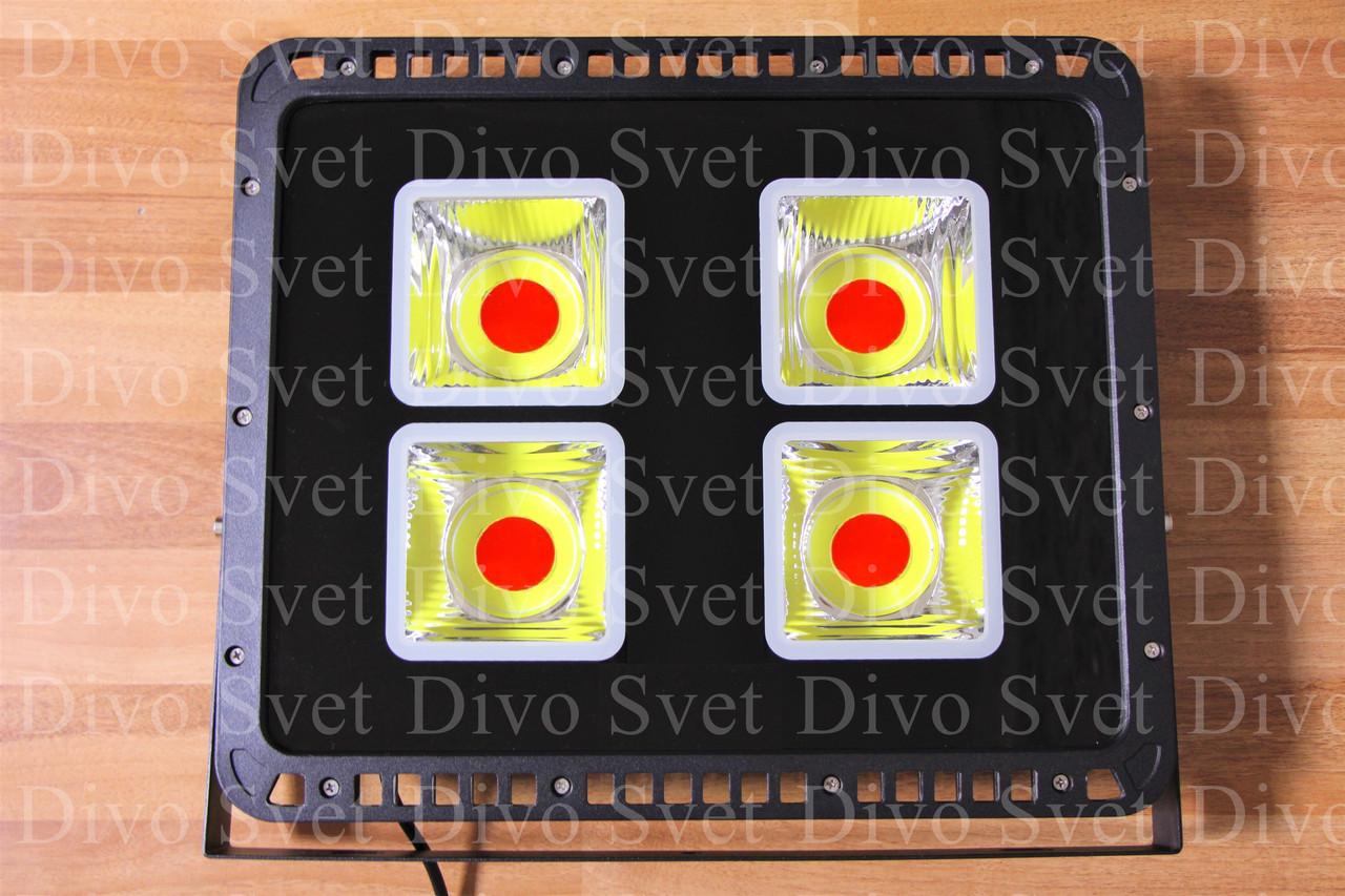 LED прожектор RGB 200 W. Цветные светодиодные прожекторы для подсветки РГБ 200 Вт, с пультом