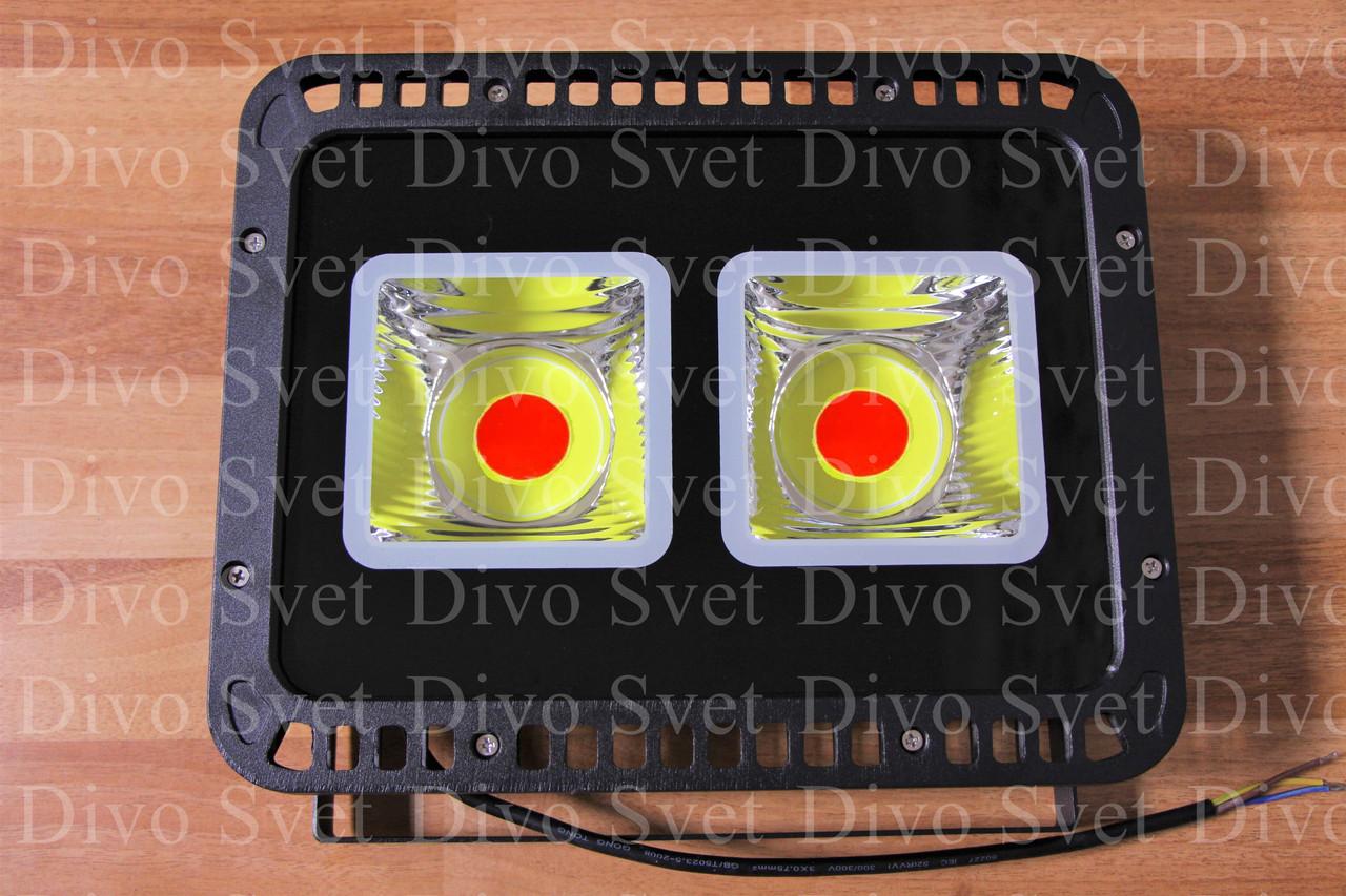 LED прожектор RGB 100 W. Цветные светодиодные прожекторы для подсветки РГБ 100 Вт, с пультом