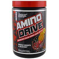 Аминокислотный комплекс Nutrex, Amino Drive Black, Амино Драйв, Вишня и Цитрус 258 г