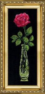 """Набор для вышивания крестиком """"Красная роза"""" 202"""