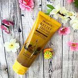 DEOPROCE Relief Perfume Body Scrubwash YellowПарфюмированный скраб для тела с маслом семян подсолнечника , фото 3