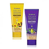 DEOPROCE Relief Perfume Body Scrubwash YellowПарфюмированный скраб для тела с маслом семян подсолнечника , фото 6