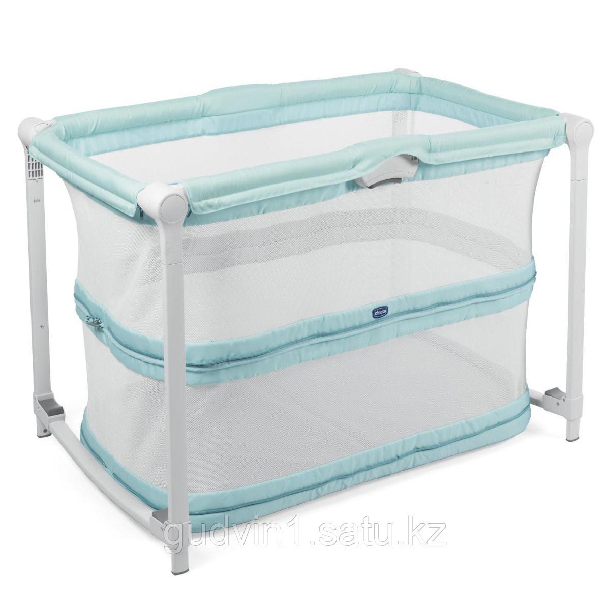 Chicco: Кроватка-манеж ZIP&GO Aquarelle 1025311