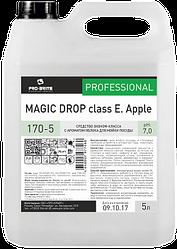 Средство эконом-класса с ароматом яблока для мойки посуды Magic Drop Сlass E Apple