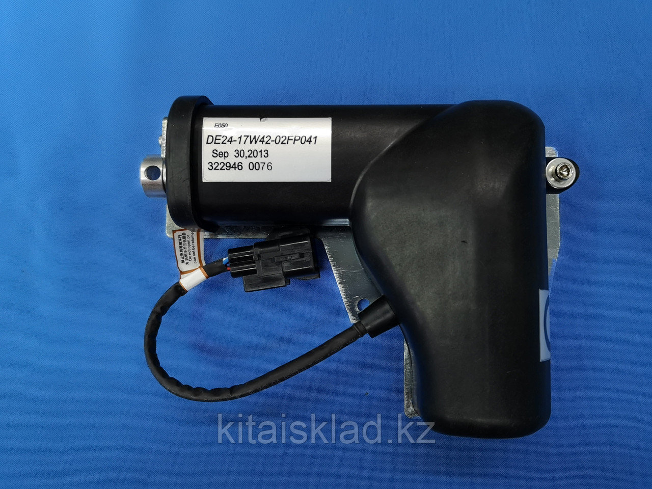 Потенциометр (дроссельный двигатель) de24-17w42-02fp041 экскаватора XCG, LIUGONG
