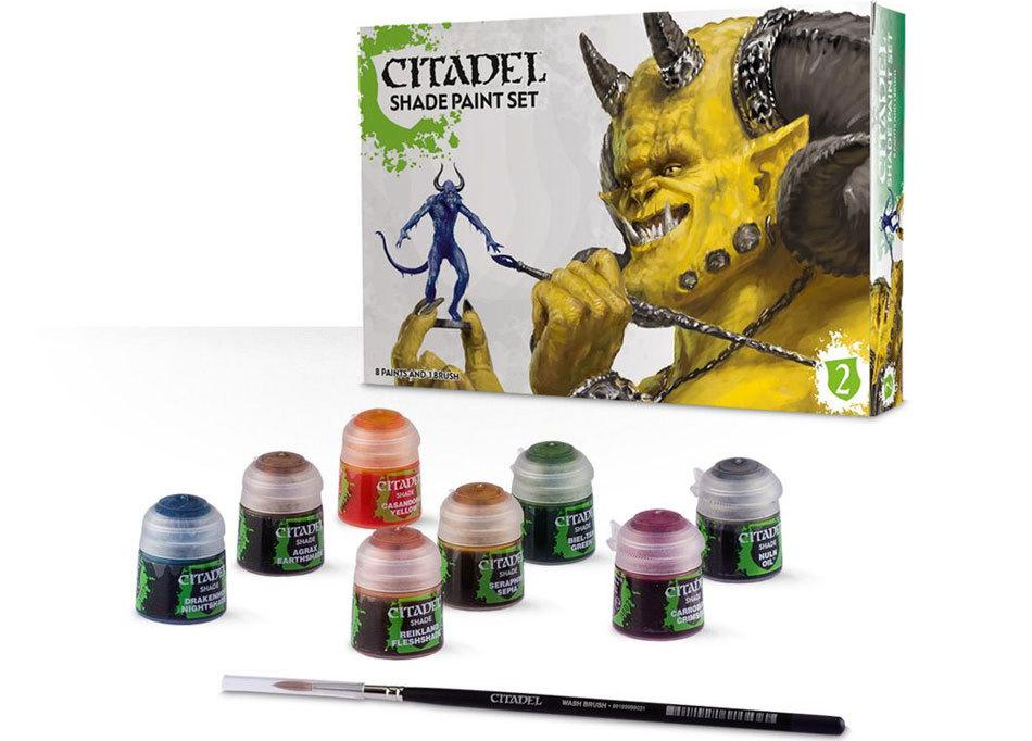 АКСЕССУАРЫ ВАРХАММЕР: Набор красок Цитадель тени (Citadel Shade Paint Set(2015))