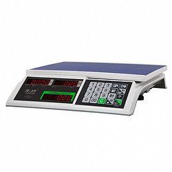 Весы электронные фасовочные настольные M-ER 326AC-32.5 (345х330х120мм, платф.325х230мм, до 32 кг, ЖКИ)