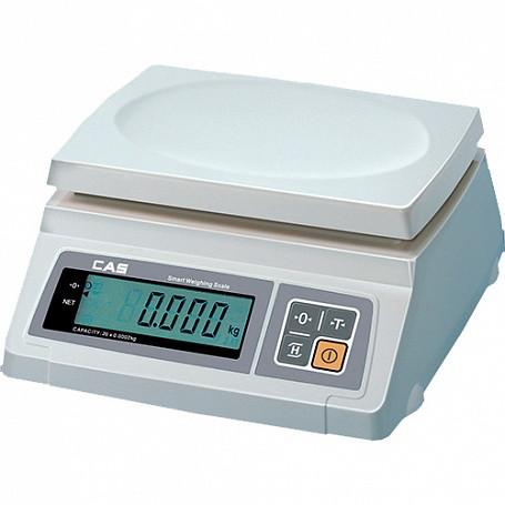 Весы электронные CAS SW-20, (260х287х119мм, платф.241х192мм, масса 3,2кг)