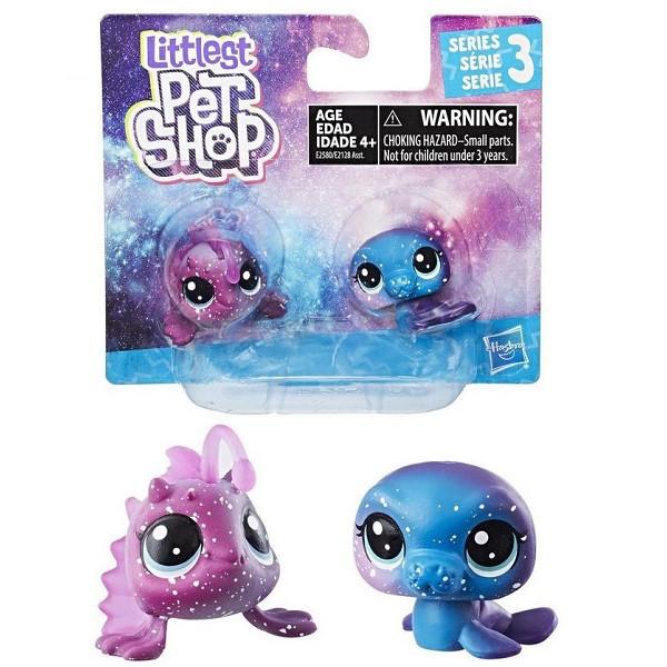 """Hasbro Littlets Pet Shop Набор из 2 фигурок """"Литл Пет Шоп"""" - Космическая коллекция E2580"""