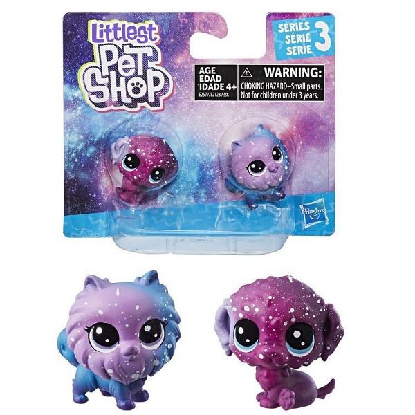 """Hasbro Littlets Pet Shop Набор из 2 фигурок """"Литл Пет Шоп"""" - Космическая коллекция E2577"""