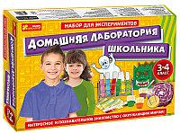 """Ranok 12114064Р Набор для экспериментов """"Домашняя лаборатория школьника"""""""