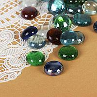 """Камень для декора """"Разноцветные плоские марблс"""" (200 г), фото 1"""