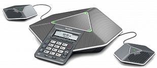 Yealink CP860, конференц-телефон, PoE, запись разговора с доп. микрофонами