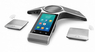 Yealink CP960, конференц-телефон, PoE, запись разговора и 2 CPW90 (беспроводные)