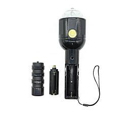 Светодиодный цветной LED проектор на штативе 2-в-1, фото 3