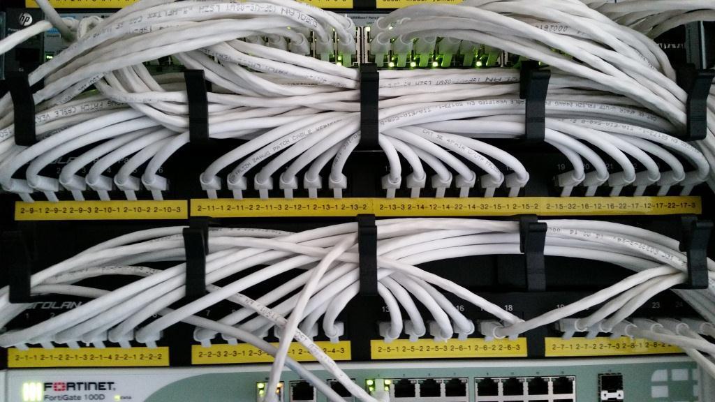Монтаж структурированных кабельных сетей (СКС - Structured Cabling System, SCS)